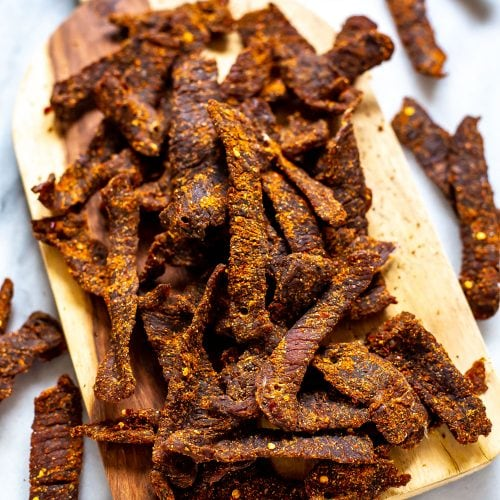 Homemade Beef Jerky Recipe