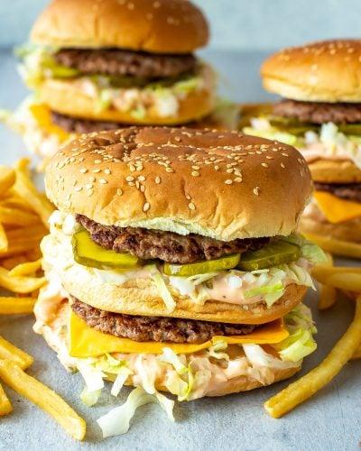 Homemade Big Mac Recipe