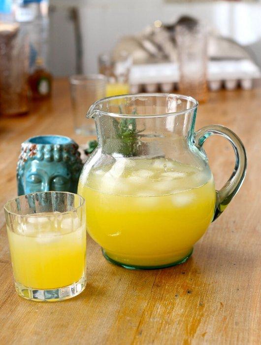 Mango-Grapefruit Agua Fresca Recipe