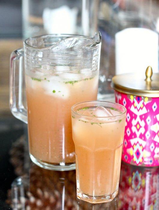 Watermelon, Honeydew & Mint Agua Fresca