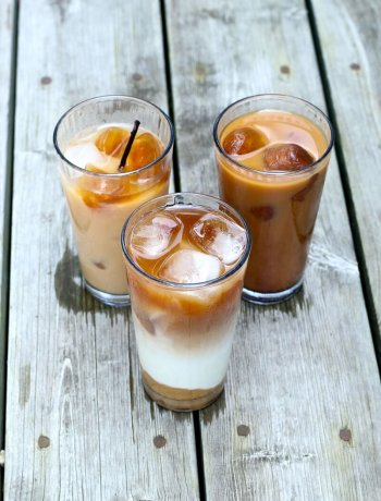 Iced Coffee Recipes: Caramel, Vanilla and Mocha