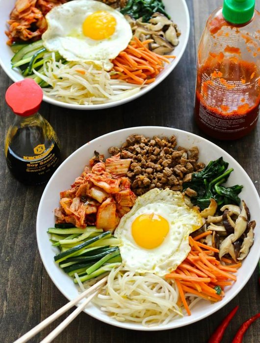30 Minute Korean Bibimbap Recipe