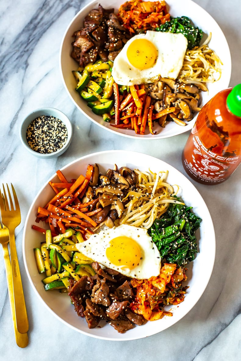 30 Minute Korean Bibimbap Recipe The Girl On Bloor