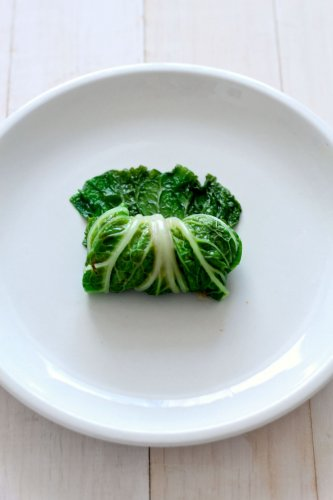 Healthier Napa Cabbage Rolls with Quinoa