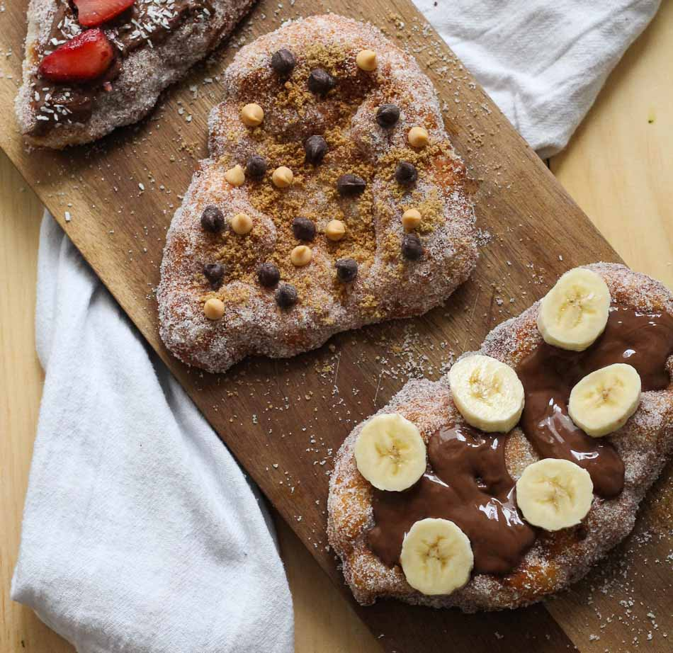Homemade Beaver Tails With Pizza Dough The Girl On Bloor