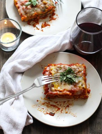 Easy Homemade Lasagna with 3 Sauces
