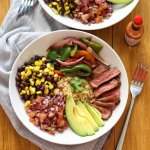 Steak-and-Quinoa-Burrito-Bowl