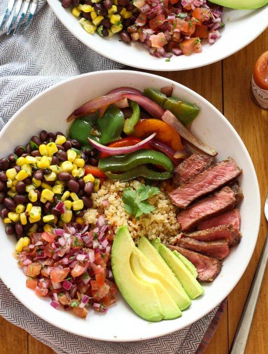 Steak-and-Quinoa-Burrito-Bowl