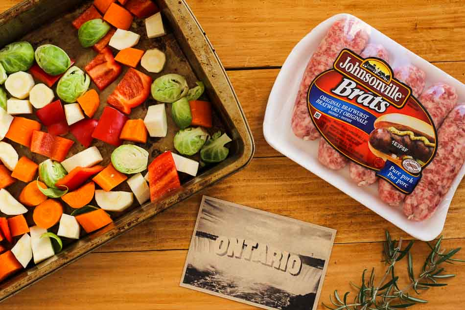 Johnsonville Sausage Root Vegetable Toss