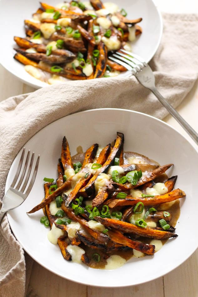 Are you going to give this Sweet Potato Poutine a try? If you do be ...