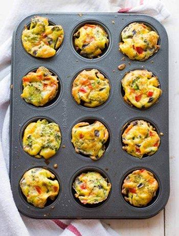 Crustless Jalapeño Mini Quiches