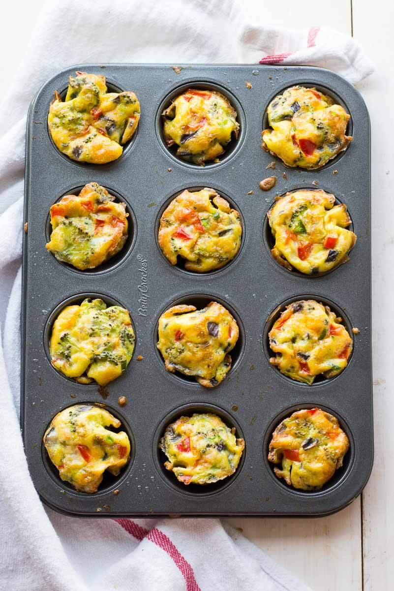 Crustless Jalapeño Mini Quiches