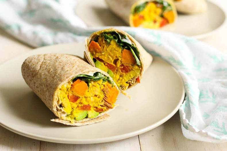 Chickpea, Sweet Potato & Avocado Freezer Wraps3
