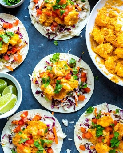 Easy Bang Bang Shrimp Tacos