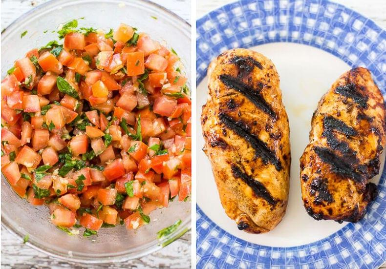 Chicken Bruschetta Linguine-12