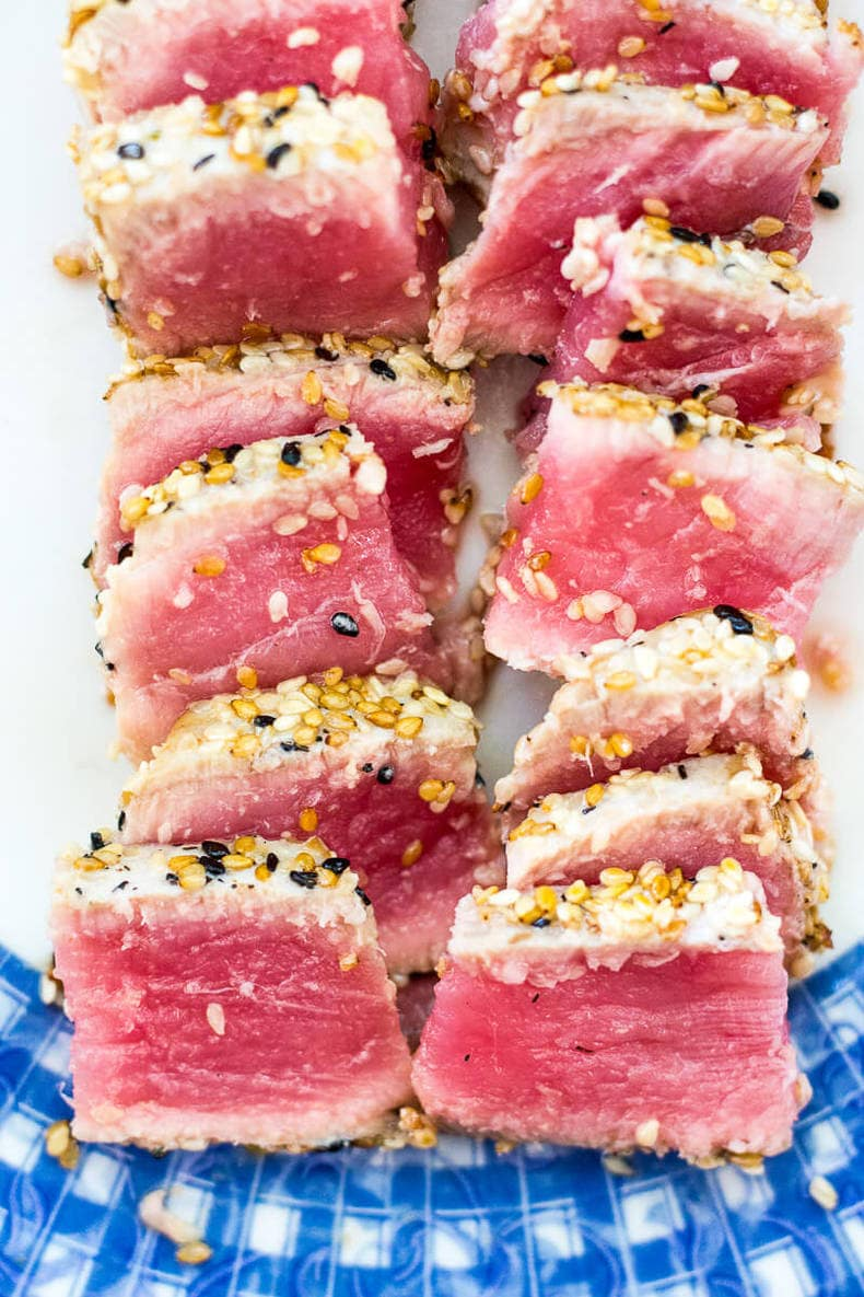 Copycat Bonefish Grill Tuna Bowls