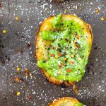 Green Goddess Potato Skins
