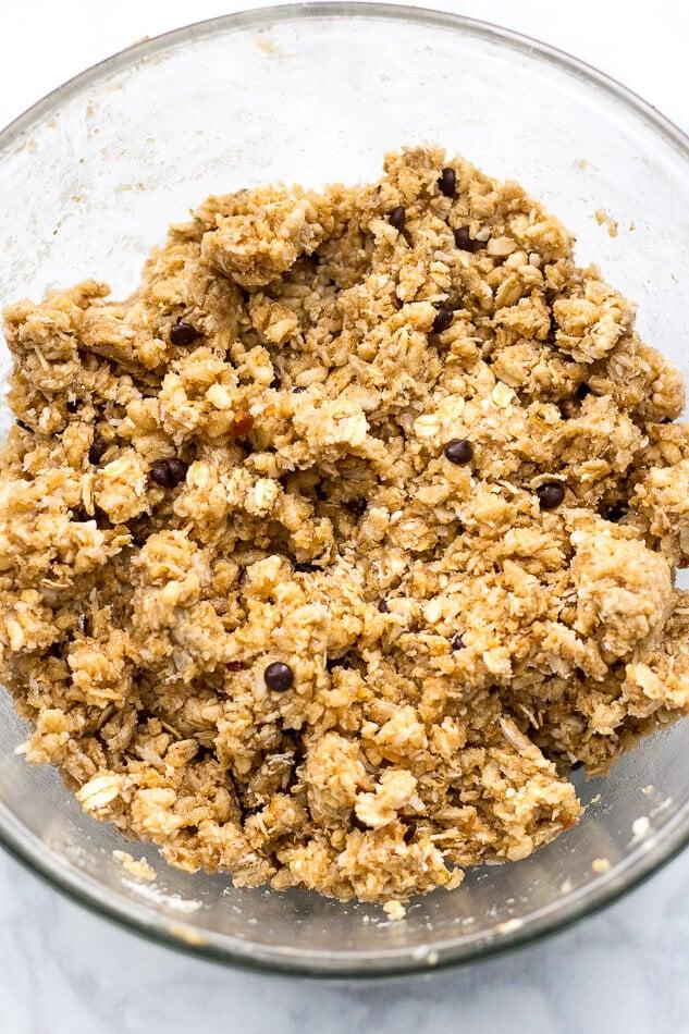 Tahini Coconut Energy Protein Bites