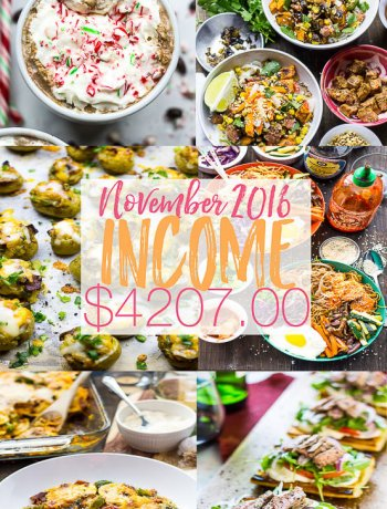 The Girl on Bloor November Income Report