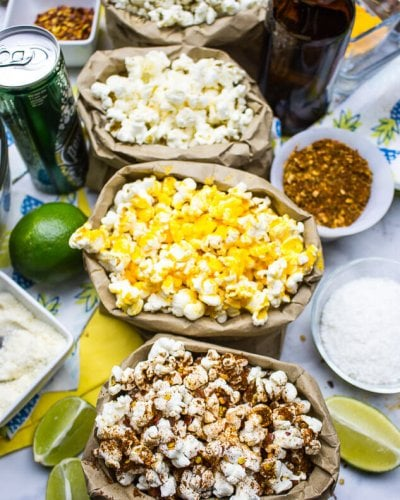 Build Your Own Popcorn Bar!