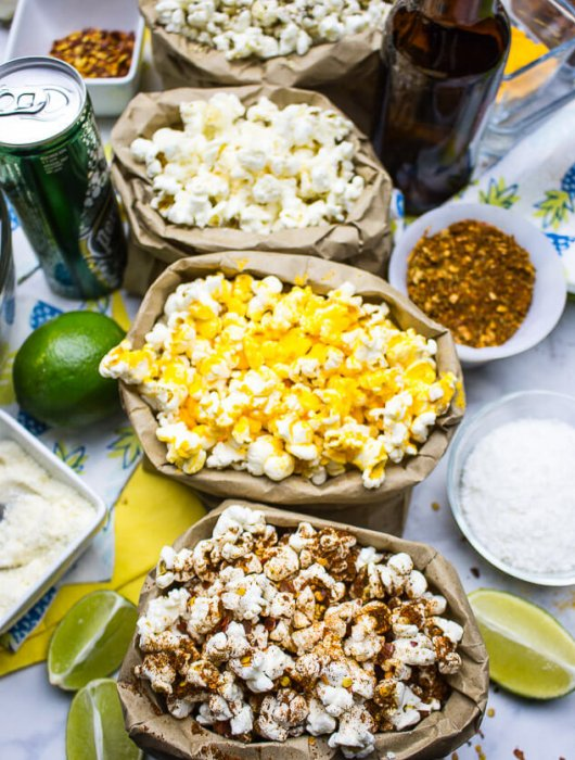Build Your Own Popcorn Bar