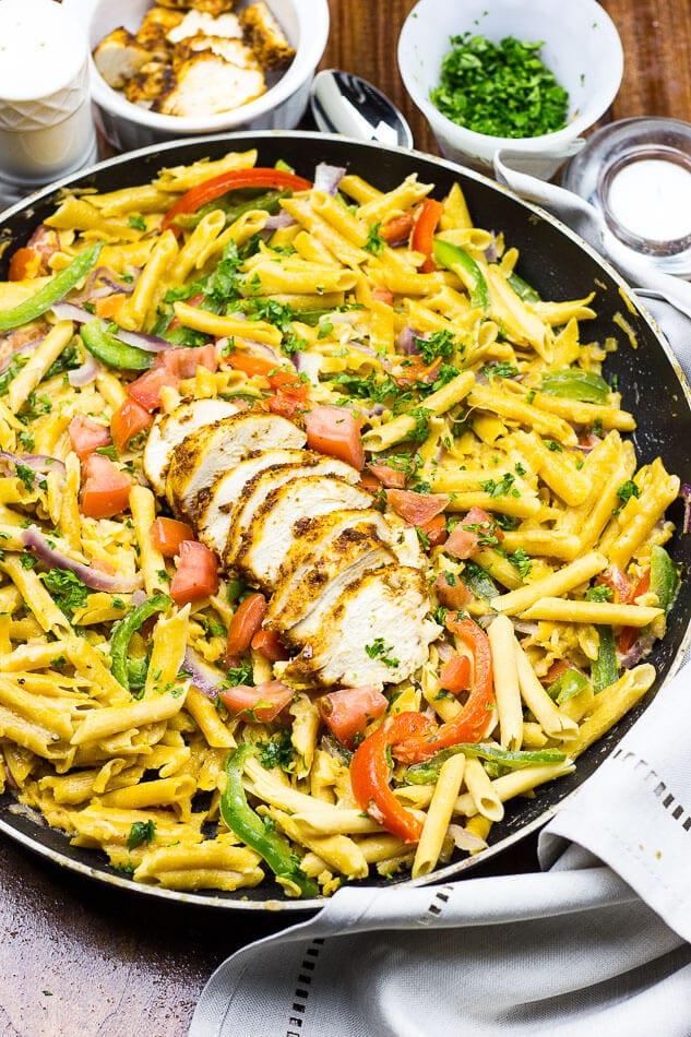 Cajun Chicken Pasta | Chickapea Pasta
