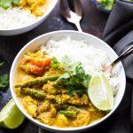 Healthy Chicken Tikka Masala Rice Bowls