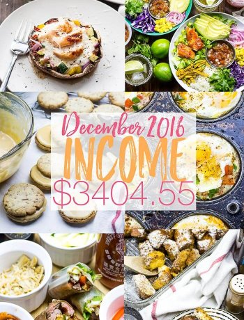 The Girl on Bloor December Income report