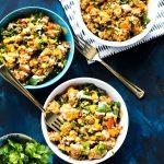 Sweet Potato, Kale & Quinoa Lunch Bowls