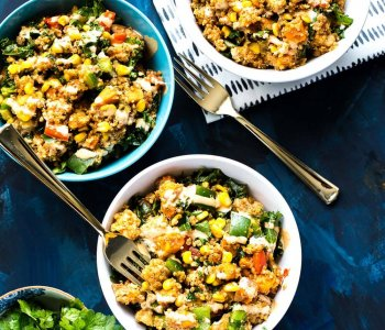 Sweet Potato, Kale & Quinoa Lunch Bowls