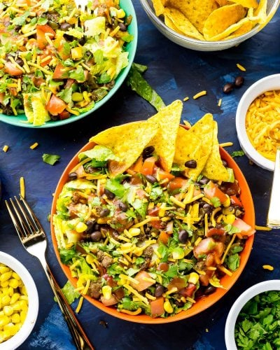 20-Minute Doritos Taco Salad (Video!)