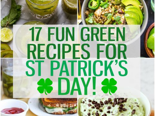 17 Fun Green Recipes For St Patrick S Day The Girl On Bloor
