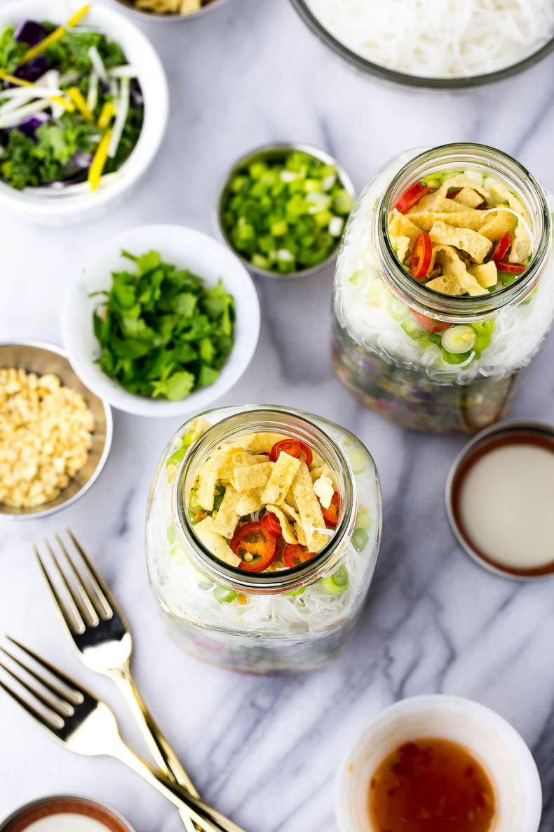 Sweet Chili Chicken Salad Jars-8-1 - The Girl on Bloor