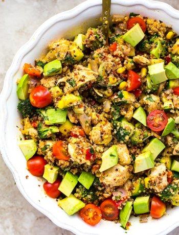 Chili Chicken Quinoa Salad
