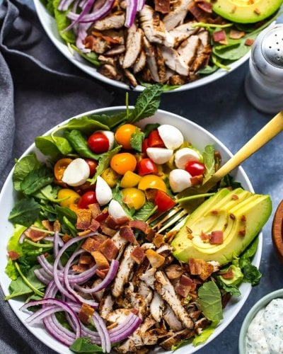Grilled Chicken, Avocado & Ranch BLT Salad