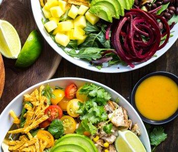 Habanero Santa Fe Chicken Salad