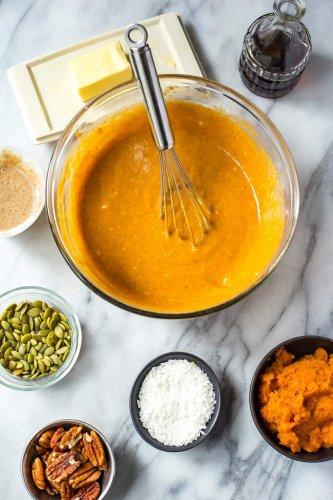 5-Ingredient Pumpkin Protein Pancakes