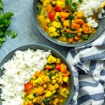 Butternut Squash Chicken Curry