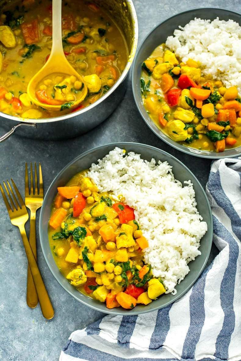 Butternut Squash Chicken Curry