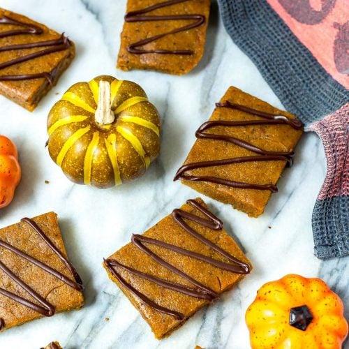 Pumpkin Spice Latte Protein Bars
