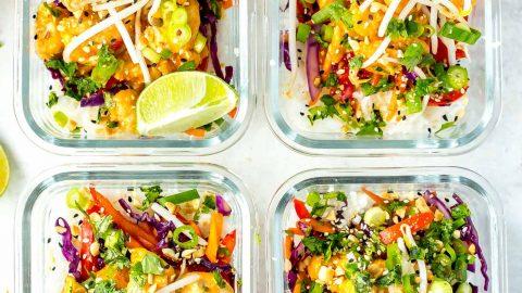 Admirable Sweet Chili Thai Chicken Meal Prep Bowls Download Free Architecture Designs Scobabritishbridgeorg
