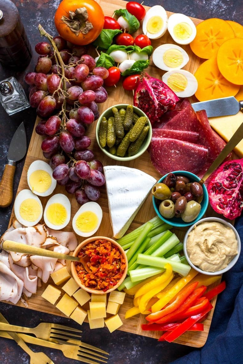 How to Make a Protein-Packed Healthy Charcuterie Board