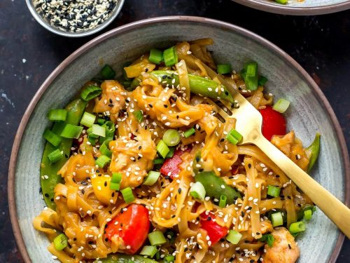 Instant Pot Honey Sesame Chicken Noodle Bowls The Girl On Bloor
