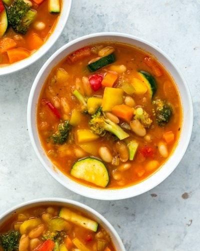Instant Pot Detox Vegetable Soup