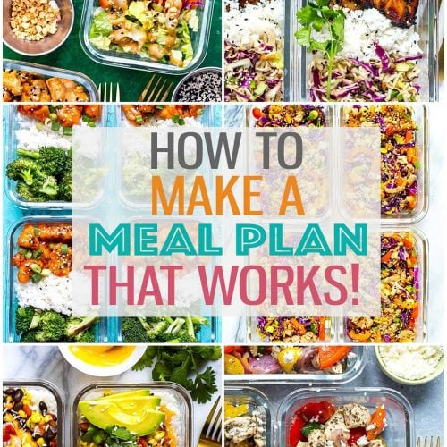 If you're looking to get more organized with your weekly meal prep but don't know where to start, all you need is a plan! I'll show you how to plan your meals for the week so that you can stay on track with your health and fitness goals! #mealplanning #weeklymealplan