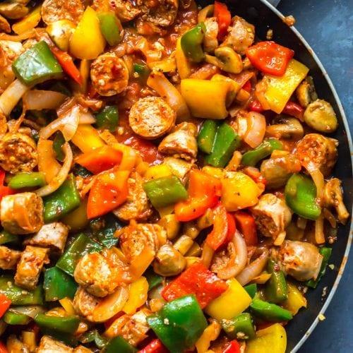 Meal Prep Turkey Sausage Skillet