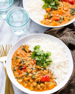 Slow cooker african peanut stew