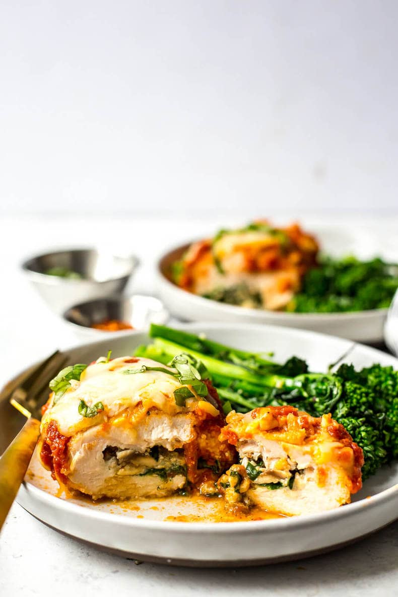 baked stuffed chicken breast recipes