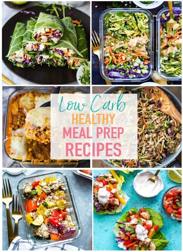 17 easy low carb recipes for meal prep the girl on bloor these 17 easy low carb meal prep recipes are perfect for when you want something a forumfinder Gallery