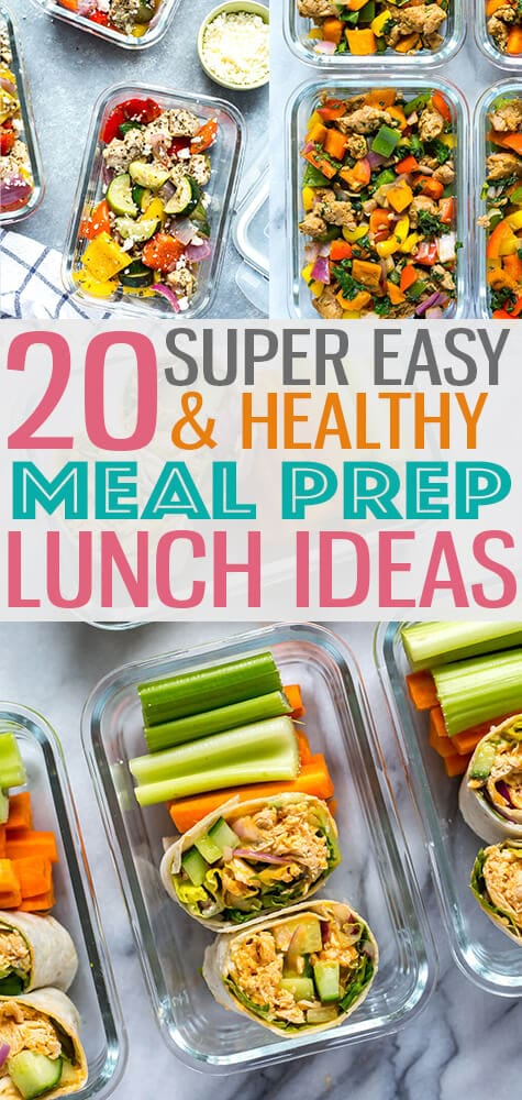 Meal Prep Lunch Ideas